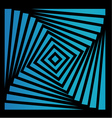 Blue and black optical vector