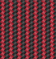 Carbon fiber black red vector