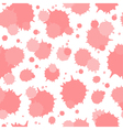Seamless pattern of blots vector