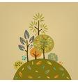 Autumn forest vector