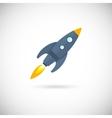 Aircraft icons space rocket vector