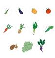 Vegetables set vector