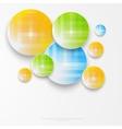 Beautiful color grunge design elements circle vector