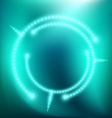 Abstract background with glow vector