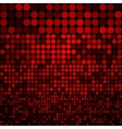 Abstract dark red circles seamless pattern vector