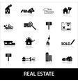 Real estate icons eps10 vector