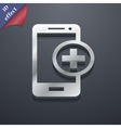Mobile devices icon symbol 3d style trendy modern vector