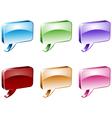 Dialog boxes vector