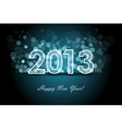 2013 - new year background vector