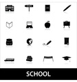 School icons eps10 vector