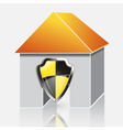 Home protection concept vector