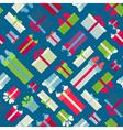 Seamless festive pattern vector