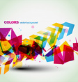 Beautiful colorful abstract vector