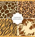 Skin seamless patterns vector