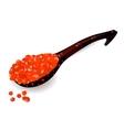 Saviarspoon caviar vector