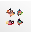 Set of labels stickers banners badges and vector