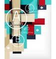 Abstract infographic background vector