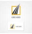 Logo for financial and bank companies vector