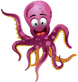 Cute octopus vector
