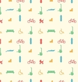 Background for active leisure in the park vector