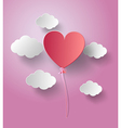 Balloon heart vector