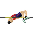 High jumper vector