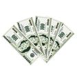 Five hundred dollar bills vector