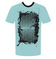 Tshirt grunge design vector