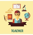 Education flat infographic design vector