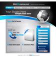 Business website vector
