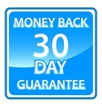30 days money back guarantee vector