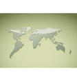 Green world background vector