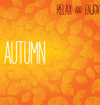 Autumn background design vector