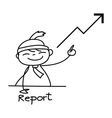 Cartoon business concept vector