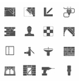 Home repair icons set vector
