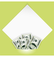 Money photo mount vector