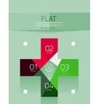 Flat design infographics concept vector