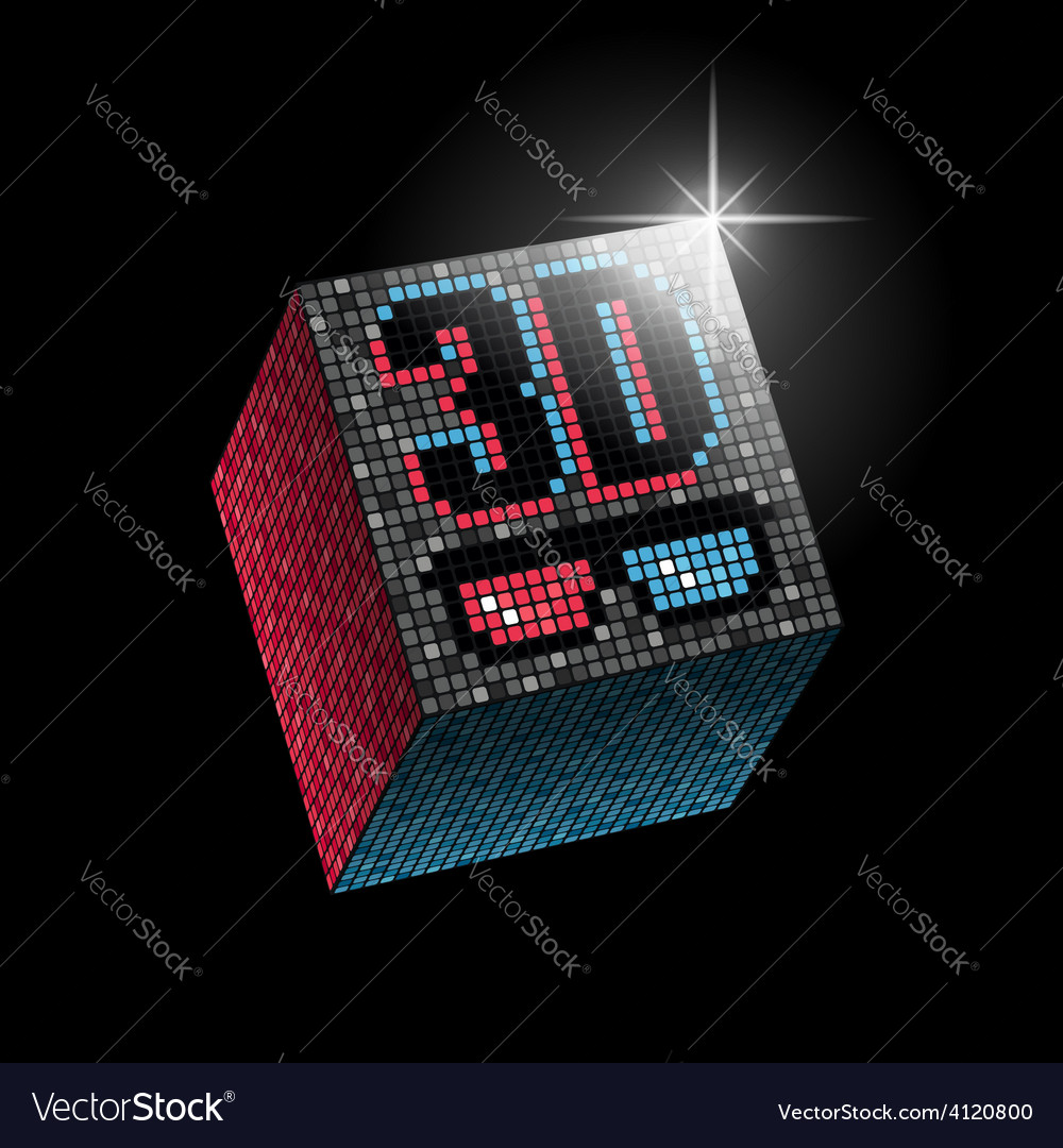 3d 3d color vector | Price: 1 Credit (USD $1)