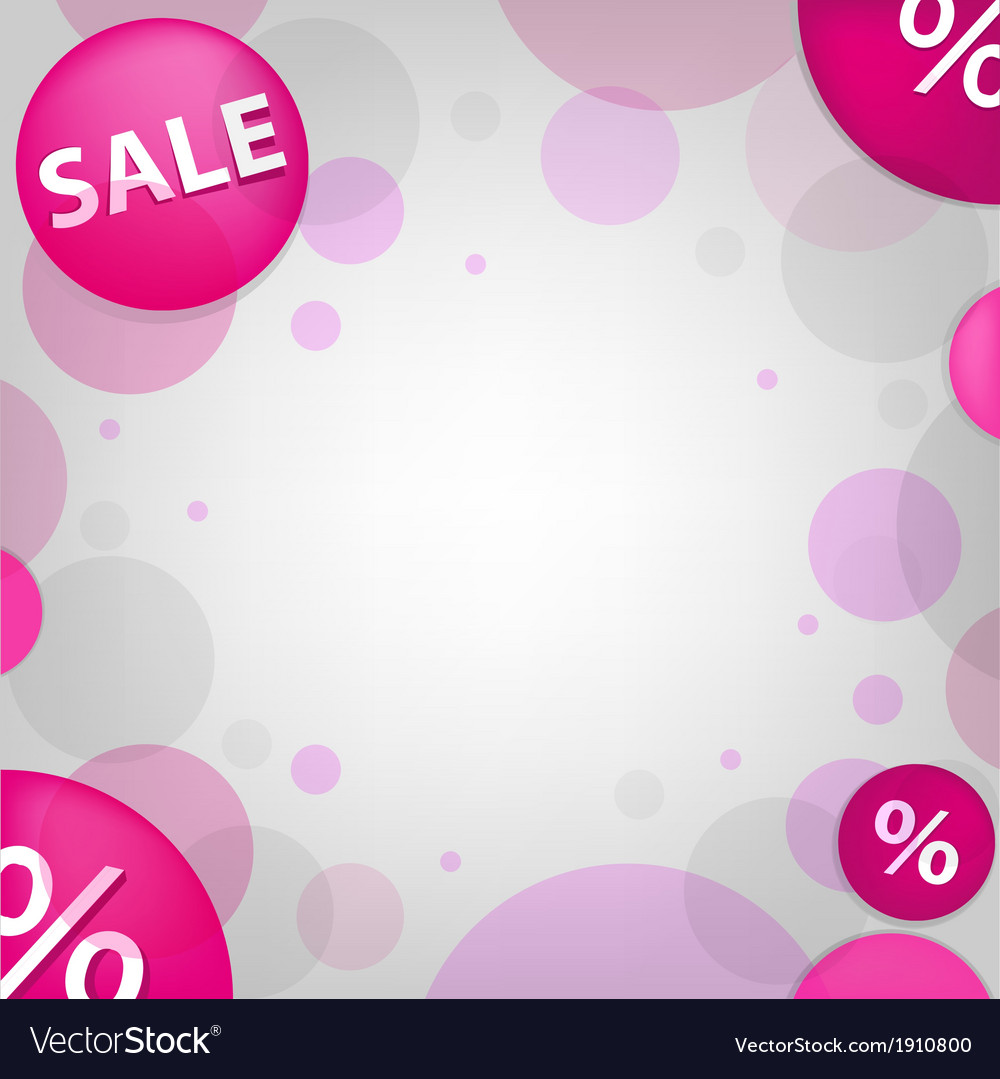 Bright sale poster vector | Price: 1 Credit (USD $1)