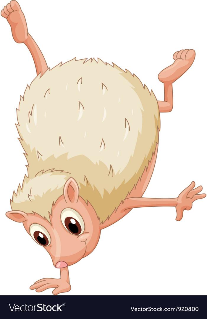 Hedgehog handstand vector | Price: 1 Credit (USD $1)