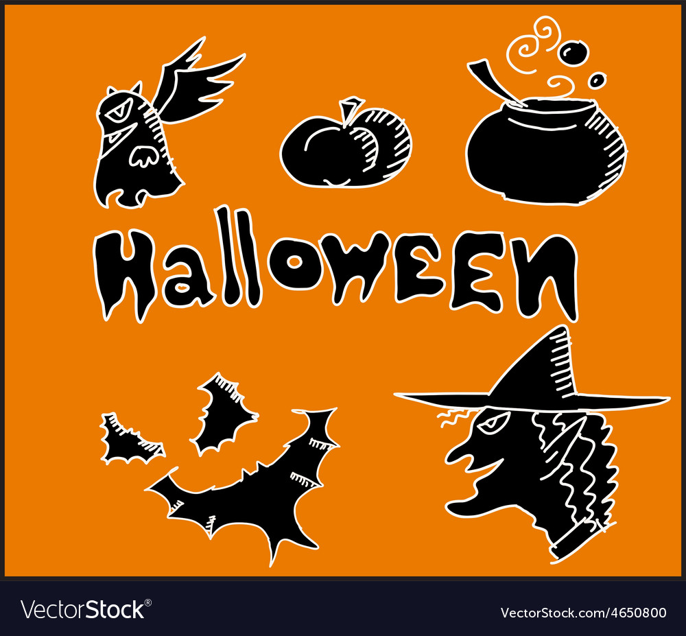 Icon for halloween party night vector | Price: 1 Credit (USD $1)