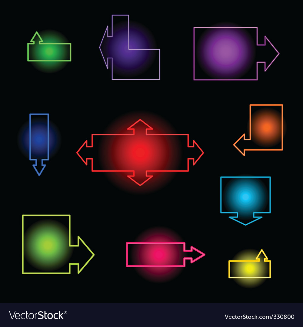 Neon index vector | Price: 1 Credit (USD $1)
