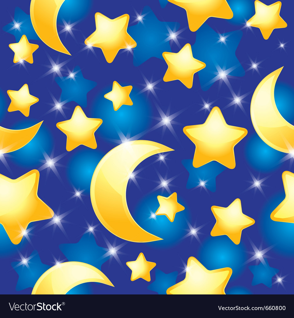 Night pattern vector | Price: 1 Credit (USD $1)