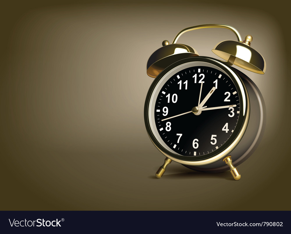 Alarm clock vector | Price: 3 Credit (USD $3)