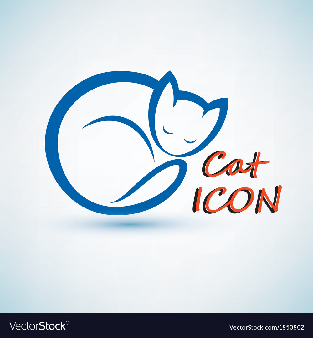 Cat icon vector | Price: 1 Credit (USD $1)
