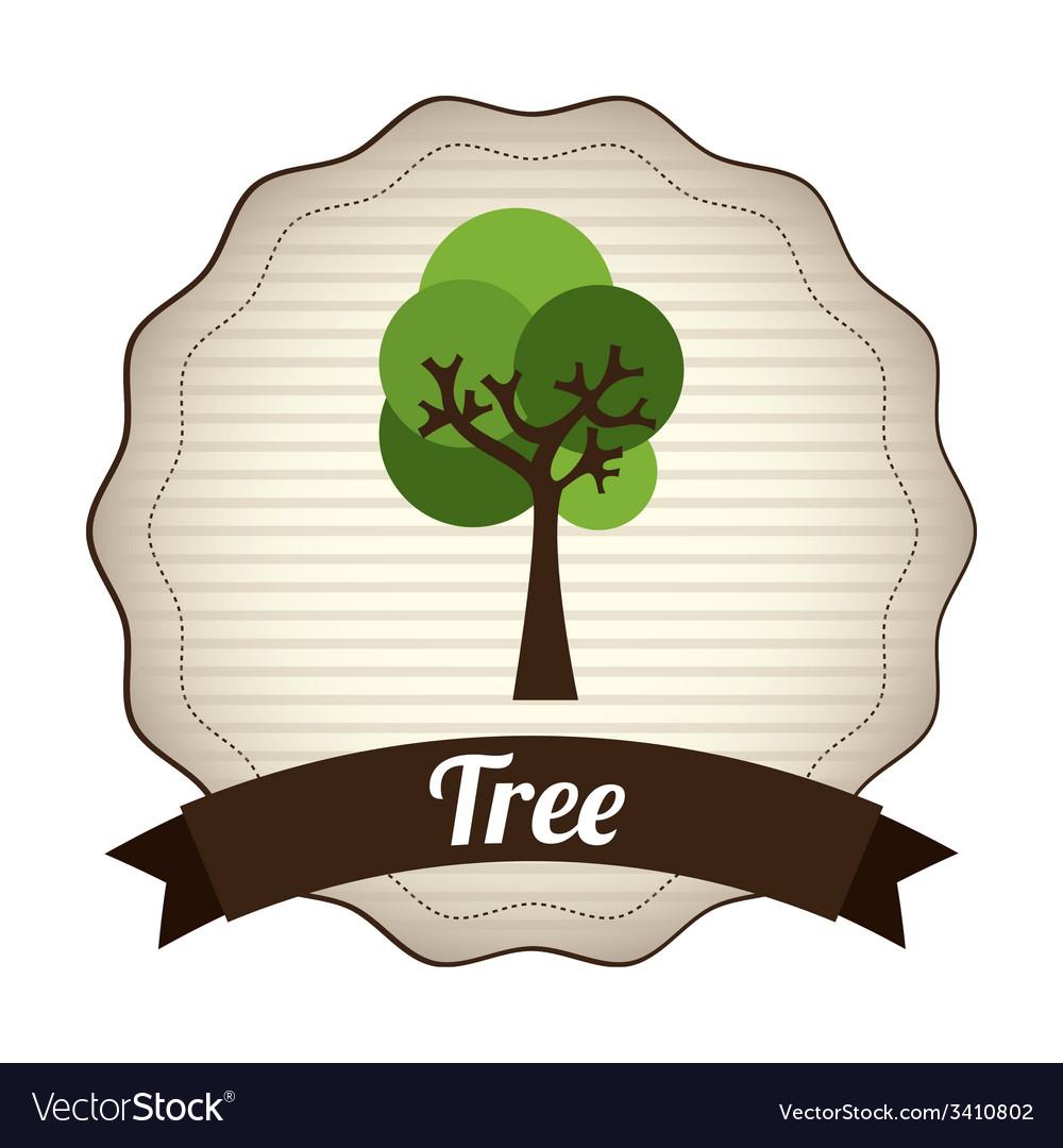 Tree design vector | Price: 1 Credit (USD $1)