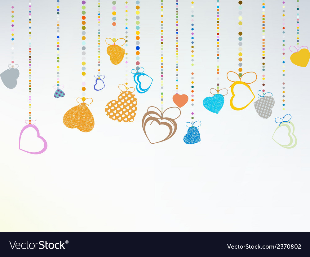 Valentine day background eps 8 vector | Price: 1 Credit (USD $1)