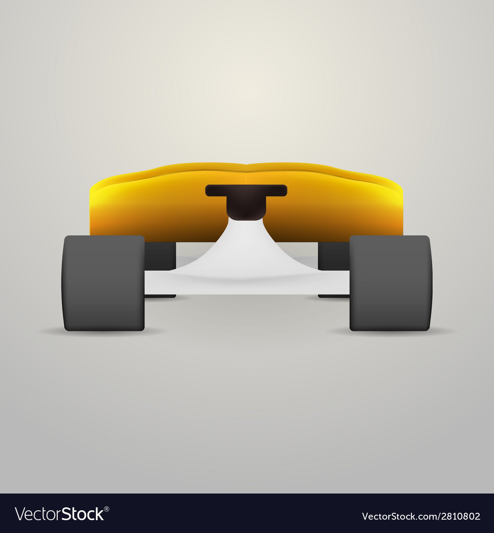 Yellow longboard vector | Price: 1 Credit (USD $1)