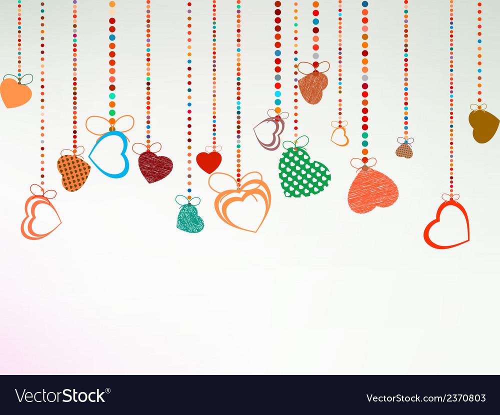 Valentine day background eps 8 vector | Price: 1 Credit (USD $1)