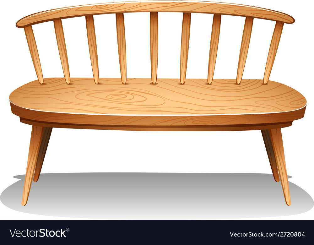 A brown wooden furniture vector | Price: 1 Credit (USD $1)